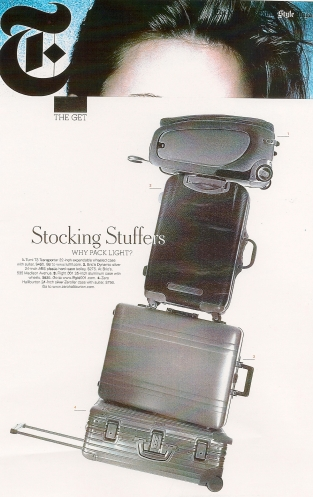Tumi in The New York Times Magazine - Tumi
