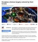 AP sunglass story