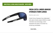 Kayak Angler - UA Storm launch