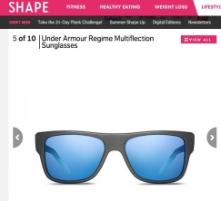 Under Armour sunglasses in Shape