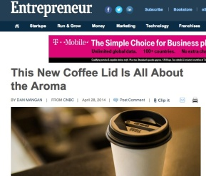 Viora Lid launch in Entrepreneur