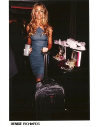 Denise Richards with Tumi